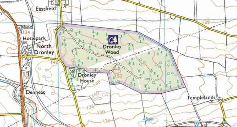 Dronley Wood Map 04-838